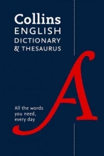 Collins Dictionaries Collins English Paperback Dictionary and Thesaurus