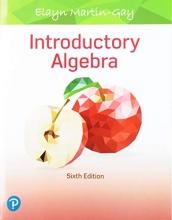 Elayn Martin-Gay Introductory Algebra