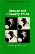 Todd, Janet Gender and Literary Voice