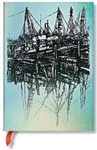 Boats & Reflections Midi Lined