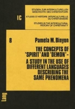 Binyon, Pamela M. The Concepts of `Spirit` and `Demon`