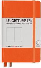 Lt342932 , Leuchtturm notitieboek pocket 90x150 blanco oranje