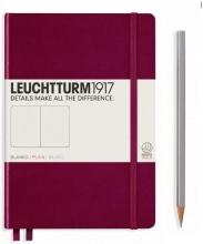 Lt359681 , Leuchtturm notitieboek softcover 19x12.5 cm blanco port