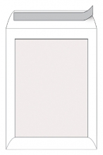 , Envelop Quantore bordrug EA3 312x441mm zelfkl. wit 100stuks