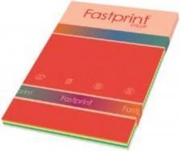 , Kopieerpapier Fastprint A4 80gr 10kleuren x25vel 250vel