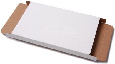 , Brievenbusbox CleverPack A5 230x160x26mm karton wit 5 stuks