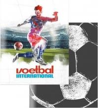 , Schrift a5 lijn 3 pak voetbal international