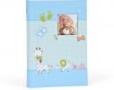 ,<b>Fotalbum baby moments slip in blauw 300 foto`s 10 x 15 cm</b>