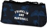 ,<b>Schooletui Franklin Marshall Plat Blauw</b>