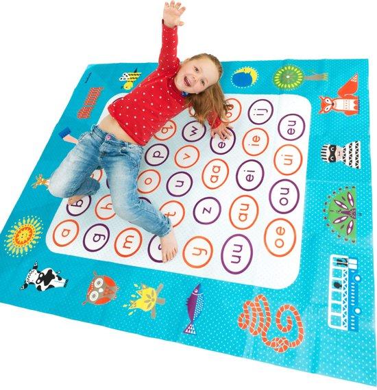 Kkl-0100,Letter spelmat - bewegen en leren - 4+