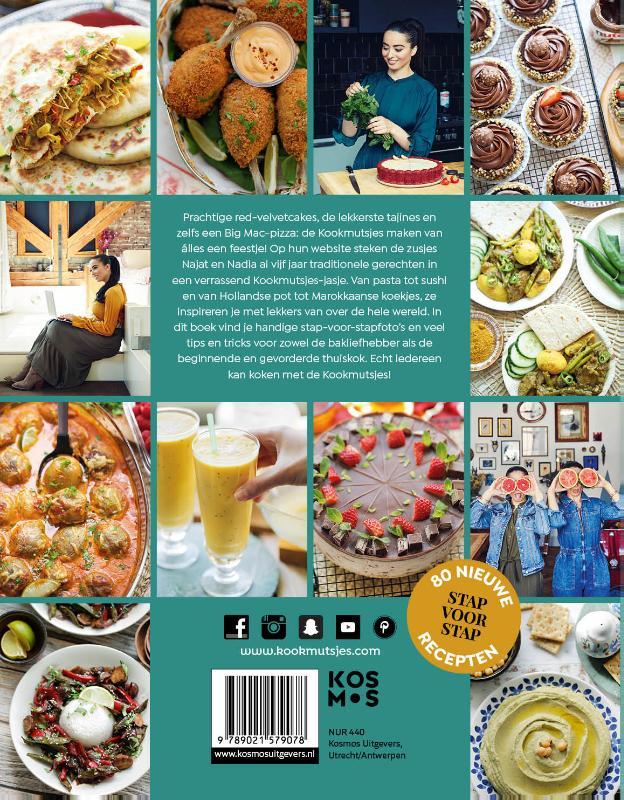 Najat Yachou, Nadia Yachou,Het grote Kookmutsjes kook- en bakboek