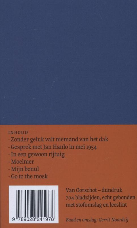 Jan Hanlo,Verzameld proza