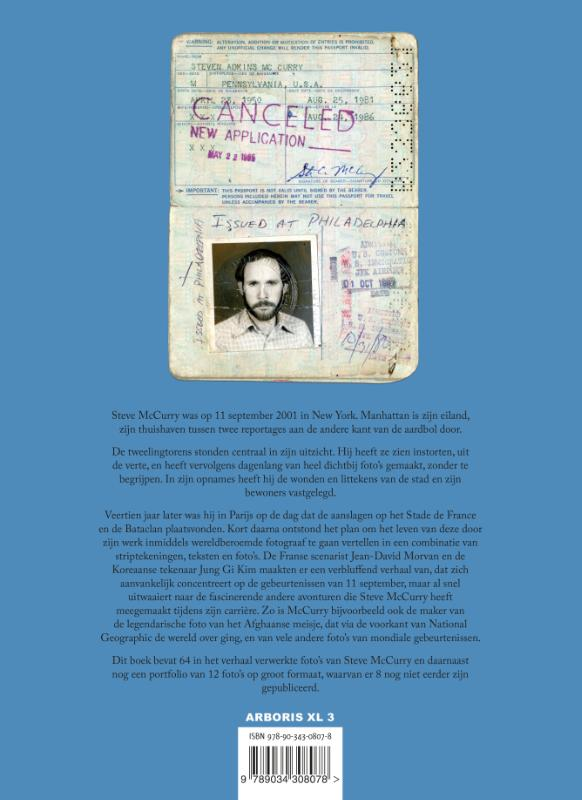 Jean-David Morvan, Steve McCurry,McCurry NY 9/11