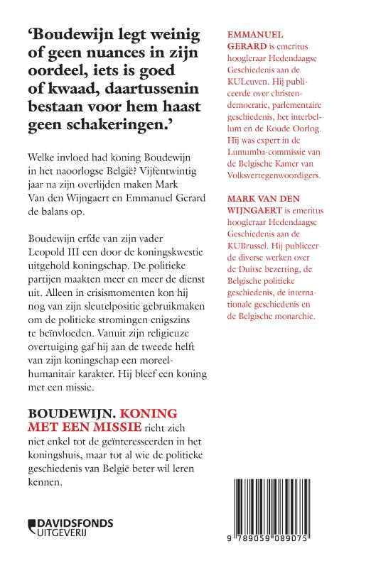 Mark Van den Wijngaert, Emmanuel Gerard,Boudewijn