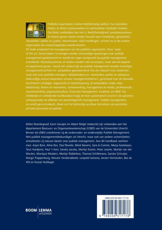 ,Handboek publiek management