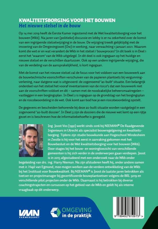 Joost Vos,Kwaliteitsborging voor het bouwen