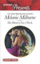 Milburne, Melanie His Mistress for a Week