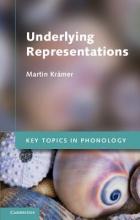 Martin Kramer Key Topics in Phonology