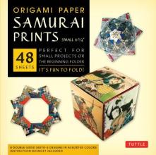 Tuttle Origami Paper Samurai Prints Small