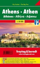 , Athen, Stadtplan 1:10.000, City Pocket + The Big Five