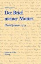 Arntzen, Detlef Der Brief meiner Mutter