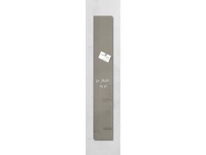 , glasmagneetbord Sigel Artverum 120x780x15mm taupe