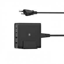 , Oplaadstation Hama USB-C 2x + USB-A 2x 5-20V/65W zwart