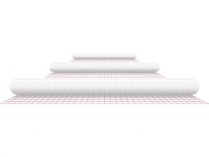 , Kaftplastic Boeklon 50cmx1m zelfklevend  transparant