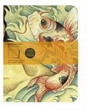 Moleskine Cover Art Carp Fish. Set of 2 Ruled Journals