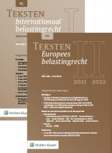 C. van Raad , Teksten Internationaal & Europees belastingrecht 2021/2022