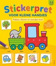 , Stickerpret voor kleine handjes 2-4 jaar