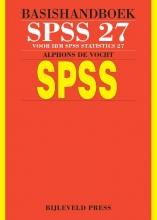 Alphons de Vocht , Basishandboek SPSS 27