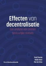 Piet de Vries Fred Fleurke  Rudie Hulst, Effecten van decentralisatie