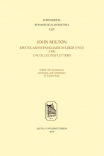 , John Milton, Epistolarum Familiarium Liber Unus and Uncollected Letters