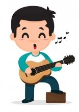 Allets Comfort , Gitaarakkoorden- Gitaartabs Notenschrift- Bladmuziek (A5) Boy Rock- Allets Comfort