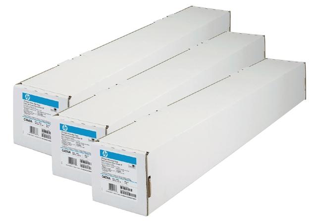 ,Inkjetpapier HP Q1404A 610mmx45,7m 90gr universal coated