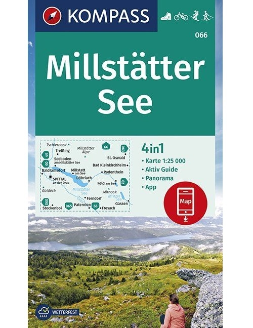Kompass-Karten Gmbh,Millstätter See 1:25 000