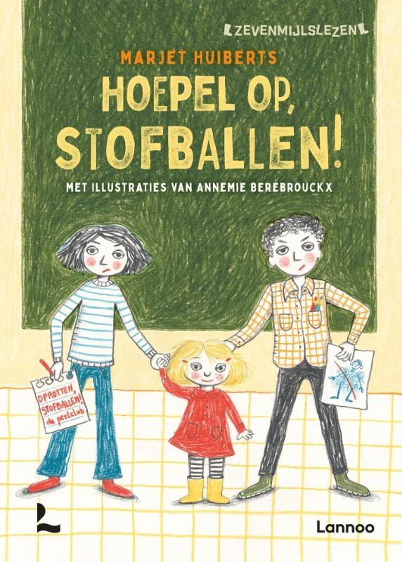 Marjet Huiberts,Hoepel op, Stofballen!
