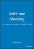 Bilgrami, Akeel,Belief and Meaning