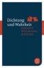Goethe, Johann Wolfgang,Dichtung und Wahrheit