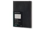 ,Moleskine 12 month - weekly - XL - black - soft cover