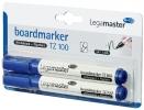 ,Viltstift Legamaster TZ100 whiteboard rond blauw 1.5-3mm 2st