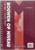 T.  Bootsma,Bouwen op niveau 3 vmbo bk metselen Werkboek