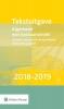 ,<b>Tekstuitgave Algemene wet bestuursrecht 2018-2019</b>