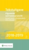 ,Tekstuitgave Algemene wet bestuursrecht 2018-2019