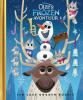 <b>Disney Pixar</b>,Olaf's Frozen Adventure, Disney, Luxe Gouden Boekje