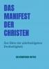 Berufener  Gottes ,Das Manifest der Christen