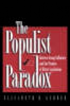 Gerber, Elisabeth R. The Populist Paradox - Interest Group Influence and the Promise of Direct Legislation