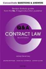Devenney, James Concentrate Questions and Answers Contract Law