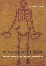 Ferry, David Of No Country I Know - New & Selected Poems & Translations (Paper)